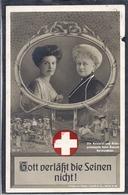 CPA MILITAIRE 1914 Croix Rouge Voir Tampon Au Dos METZ - Alemania