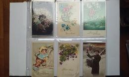 A SAISIR LOT DE 432 CARTES DANS SON ALBUM / 1 - Postcards