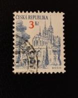République Tchèque 1994 CZ 34 Brno Second Largest City Églises - Cathédrales - Basiliques - Chapelles | Paysages Urbain - Autres - Europe