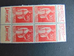 Double Paire Du N°. 213b Neuf Sans Gomme - Publicités