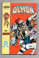 Petit Format Démon N°17 Avec Warlord - Arion Seigneur D'Atlantis De 1987 - Arédit & Artima
