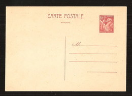 France Entier Postal Iris 431 CP1 + Pétain 515 CP1 Neufs Sans Charnières ** MNH - Postal Stamped Stationery