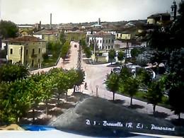 REGGIO EMILIA BRESCELLO SCORCIO VEDUTA DEL CENTRO   N1955 HL5085 SEGNI  DI COPIATURA PRESSIONE SOLCO - Reggio Nell'Emilia