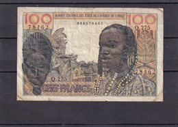 AOF French West Africa 100 Fr  ND  No Country Letter - Stati Dell'Africa Occidentale