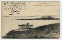 C.P.  PICCOLA    COTE   EMERAUDE  ST. MALO    LE  TOMBEAU  DE  CHATEAUBRAND  G. F.        2  SCAN  (NUOVA) - Saint Malo
