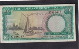 Gambia 10 Shillings  RARE  XF - Gambia
