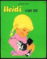 """"""" HEIDI S'en Va; N° 2 """", De Johanna SPYRI - Edition CHANTECLER (Be). - Livres, BD, Revues"""
