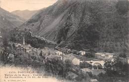 "1045""FONTAN  (A. M ) VALLE ROJA "" CARTOL ORIGINALE 1937 - Nizza"
