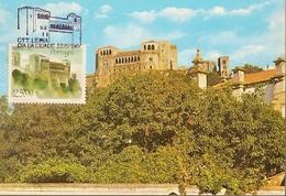 Portugal & Maximum Card, Castelo De Leiria, Dia Da Cidade De Leiria 1987 (377) - Leiria
