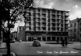 TERNI-LARGO DON GIOVANNI MINZONI-1958 - Terni