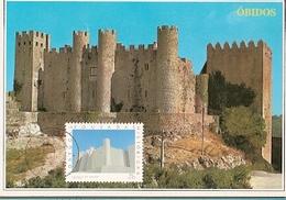 Portugal & Maximum Card, Castelo De Óbidos  1994 (1031) - Leiria