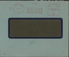 Suède EMA Sverge 030 Ore Box 1061 Stockholm 16 CAD 8 XI 1941 Dos Geöffnet Oberkommando Der Wehrmacht B = Berlin - Lettres & Documents