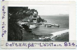 -  St-Cyr Sur Mer - ( Var ),  La Madrague, Le Petit Port, écrite, 1955, Splendide, Cliché Peu Courant, TTBE, Scans. - Saint-Cyr-sur-Mer