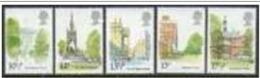 """-GB-1980 """"Famous Buildings"""" MNH (**) - 1952-.... (Elizabeth II)"""