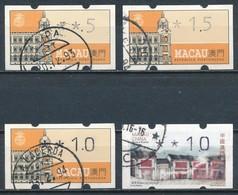°°° MACAO MACAU - DISTRIBUTOR STAMPS - 1993/2016 °°° - Gebraucht