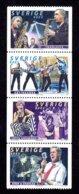 SUEDE 1999 - YT 2125/2128 - Facit 2160/2163 - NEUFS ** LUXE/ MNH -  Série Complète 4 Valeurs - Groupe De Musique - Neufs