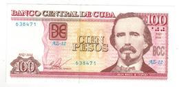 Cuba 100 Pesos 2016 , Replacement. XF+ - Cuba