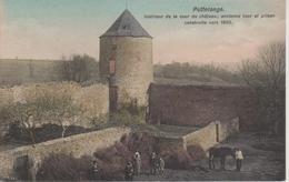 57 - PUTTELANGE LES THIONVILLE - INTERIEUR DE LA COUR DU CHATEAU - Francia