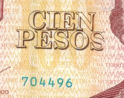 Cuba 100 Pesos 2016 , ERROR Print. On 2nd Letter S. AUNC. - Cuba