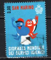 SAN MARINO - 2015 - GIORNATA MONDIALE DEI SERVIZI IGIENICI - USATO - Saint-Marin