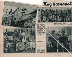 OOSTENDE ..1932.. KARNAVAL KARPERS, KABELJAUWEN, SNOEKEN...?? HET REUZENPAAR VAN OOSTENDE TOON EN WANNE - Vieux Papiers