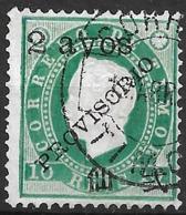 Timor – 1894 King Luiz Surcharged 2 Ayos Variety - Timor