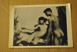 Femme Nue Homme Nu Scene Erotique Seins Sexe ( Film Plastique Commence A S Enlever Aux Angles  )  Guglielmo Pluschow - Nus Artistiques (1960-…)