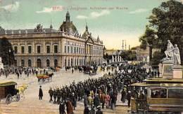 "1050"" BERLIN- ZEUGHAUS AUFZIEHEN DER WACHE""   ANIMATA  TRAMVAI CARTOL ORIGINALE 1910 - Germania"