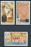 °°° BURKINA FASO - Y&T N°826/28 - 1990 °°° - Burkina Faso (1984-...)