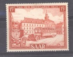 Sarre  :  Yv  329  ** - 1947-56 Gealieerde Bezetting