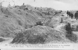 FORT DE POMPELLE VU DES TRANCHÉES Militaria Guerre 1914-1918 - Guerre 1914-18