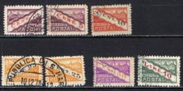 SAN MARINO - 1945 - TIPO A DOPPIA SEZIONE DENTELLATI IN MEZZO - USATI - Colis Postaux
