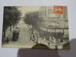 CPA 75 PARIS  - RUE MICHEL BIZO Très Animée TBE - Arrondissement: 12