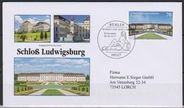 BRD 2017 FDC MiNr.3285 Schloss Ludwigsburg ( D 5429 ) Günstige Versandkosten - FDC: Briefe