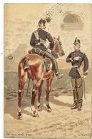 """305 -Armée Belge - Le Train """" Illustrateur Louis Geens"""" - Uniformes"""