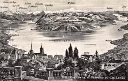 LAUSANNE Et Panorama Du Lac Léman - VD Vaud