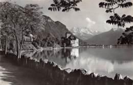 Lac Léman, Château De Chillon Et Les Dents Du Midi - VD Vaud