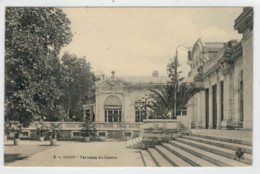 C. P.  PICCOLA     VICHY    TERRASSE   DU  CASINO      2  SCAN  (VIAGGIATA) - Vichy