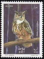 ALGERIE ALGERIA 2020 - OWLS OWL HIBOU HIBOUX CHOUETTES CHOUETTE BIRD PREY - FAUNA BIRDS OISEAUX - MNH ** - Búhos, Lechuza