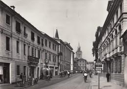 CASTELFRANCO VENETO-TREVISO-INSEGNA BIRRA =PRINZ BRAU=BORGO TREVISO-CARTOLINA VERA  FOTO-VIAGGIATA IL 20-7-1966 - Treviso