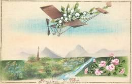 CPA CARTE PEINTE / FANTAISIES - Fancy Cards
