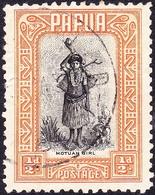 PAPUA 1932 KGV ½d Black & Orange SG130 FU - Papua New Guinea