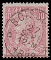 """COB N° 46 Dépôt-Relais - Belle Oblitération """"BOISSCHOT"""" - 1884-1891 Leopold II."""