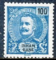 !■■■■■ds■■ Inhambane 1903 AF#24* King Carlos Mouchon 100 Réis (x2519) - Inhambane