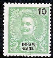 !■■■■■ds■■ Inhambane 1903 AF#17* King Carlos Mouchon 10 Réis (x2515) - Inhambane