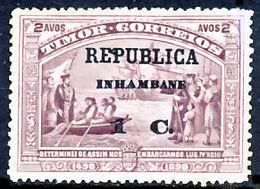 !■■■■■ds■■ Inhambane 1913 AF#65(*) Vasco Da Gama On Timor 1 Cent (x9729) - Inhambane
