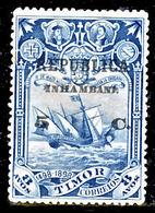 !■■■■■ds■■ Inhambane 1913 AF#67(*) Vasco Da Gama On Timor 5 Cent (x9733) - Inhambane