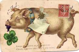 Fantaisie Cochon  Ajoutis Poisson Trèfle Grelot  Petit Noeud Etoile 1er Avril  RV - Maiali