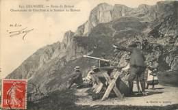 74 - CHAMONIX OBESERVATOIRE DE PLAN PRAZ - Chamonix-Mont-Blanc