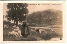 31ksr 245 CPA - PARIS - SALON D'HIVER 1910 - E. TAPISSIER - ETANG DE BRACH - France